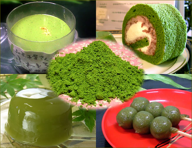 製菓用抹茶、業務用抹茶のための宇治抹茶