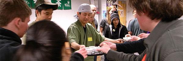 2/13 ハイスクールで日本茶のレクチャー