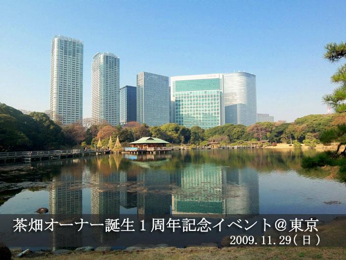 【ご感想】茶畑オーナー誕生1周年イベント@東京 参加者さまより