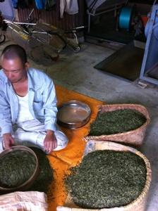 【6月4週の農作業】ほうじ茶製造の様子