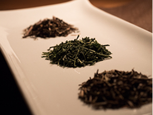 おぶぶの茎茶三種茶葉