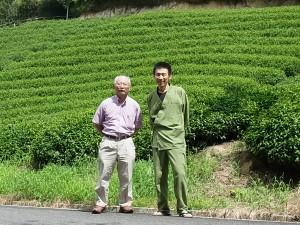 【茶畑訪問】茶畑オーナー石水さま、茶畑訪問