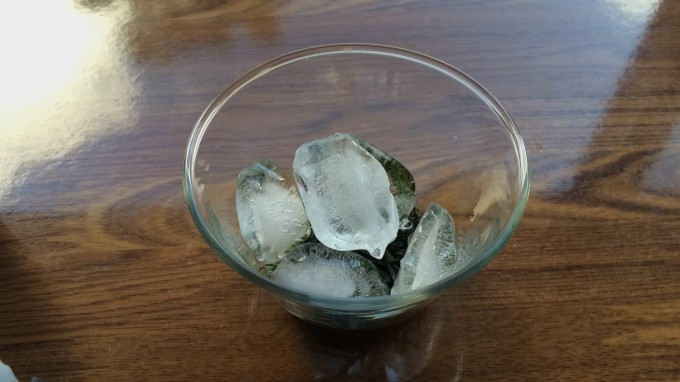 氷出しかぶせ煎茶の作り方