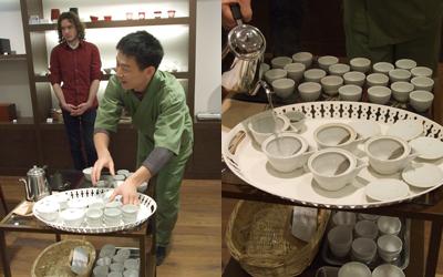 【試飲会】G-call試食会にて、ほうじ茶・かぶせ煎茶をご紹介