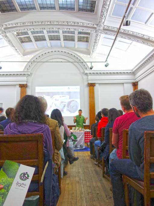 日本茶普及100人セミナー@ロンドン日本協会