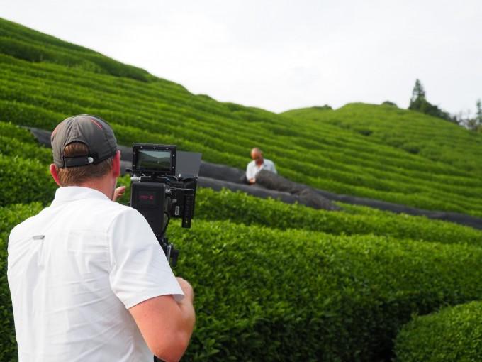 某海外企業の茶畑プロモーションビデオ撮影のお手伝い!