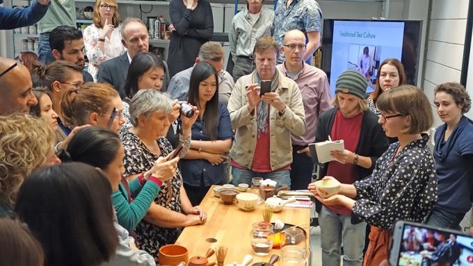 ハーグにあるお茶の学校での日本茶ビギナークラス