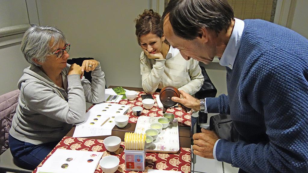ミラノにて。煎茶のワークショップ