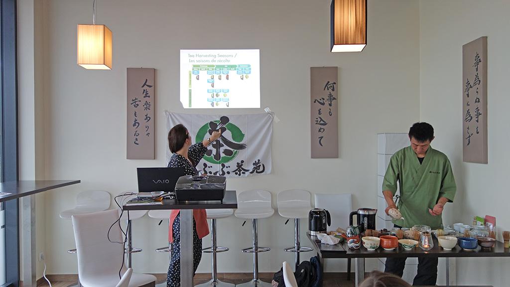 メスにて。日本茶セミナー@ラ・イザカヤ