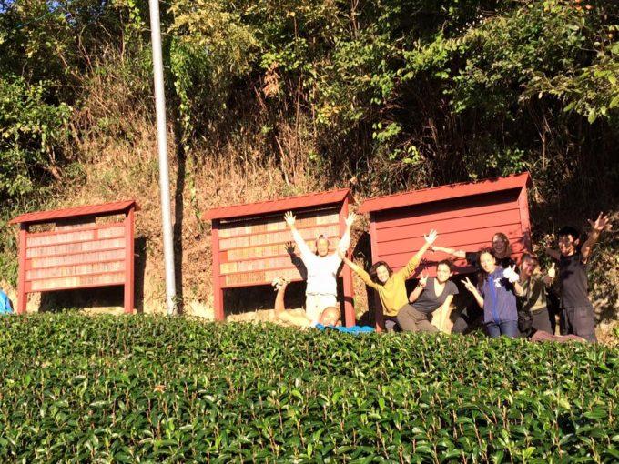 【茶畑オーナー制度】茶畑オーナー様の芳名板 三基目、無事建立完了しました!