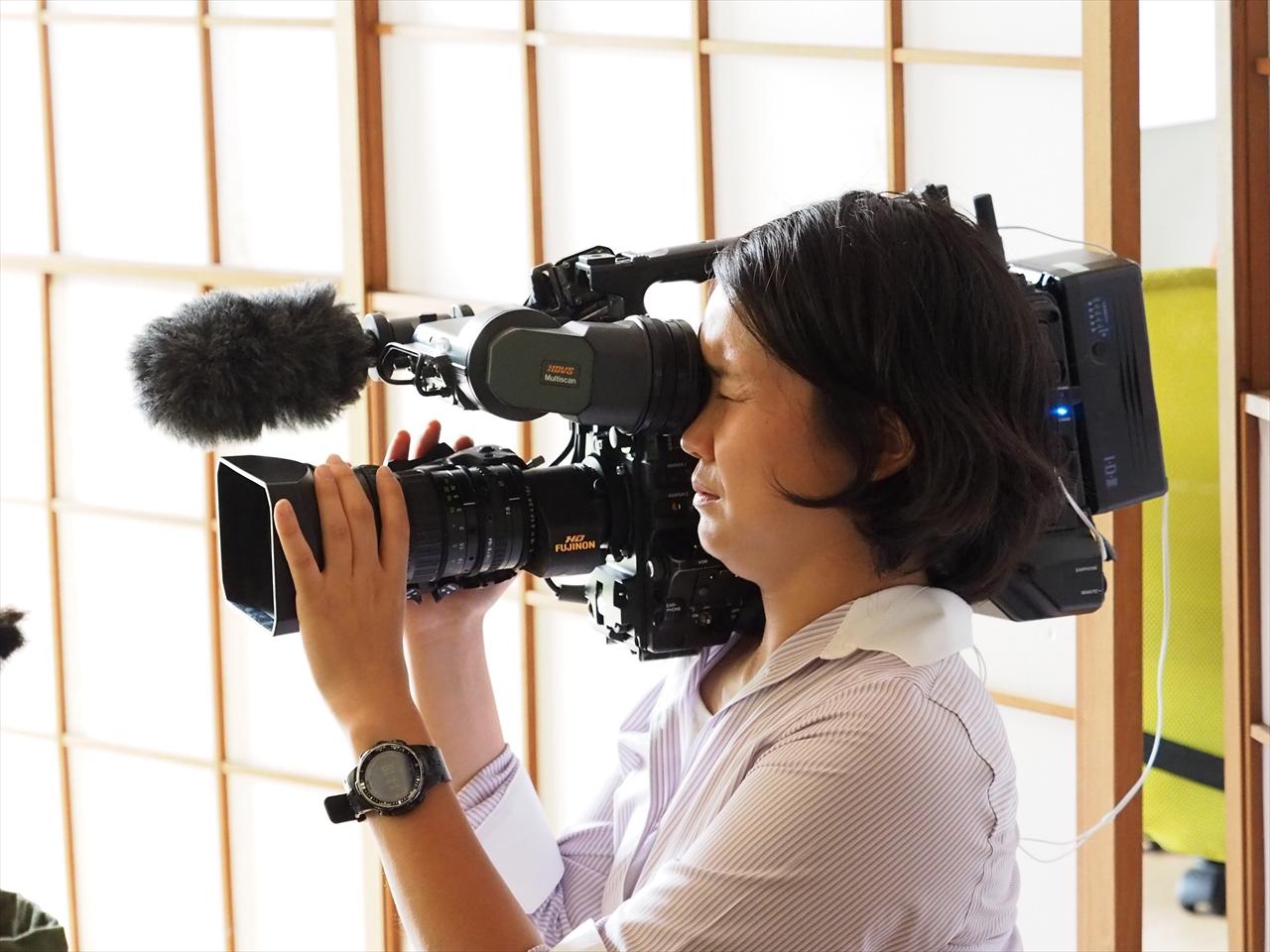 【マスコミ掲載御礼】ティーツアーやインターン生についてのテレビの取材に来ていただいております!