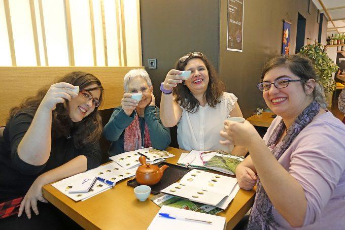 日本茶ワークショップin日本食レストランShuwa酒和【海外日本茶普及ツアー2017冬】ヨーロッパ5カ国編