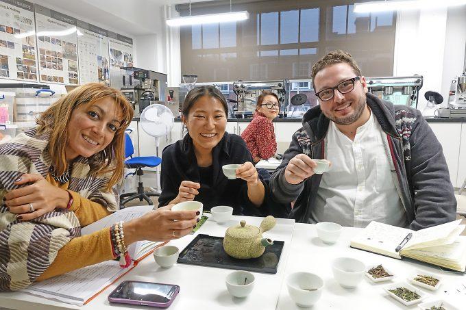 抹茶&煎茶ワークショップ|UKティーアカデミー【海外日本茶普及ツアー2017冬】ヨーロッパ5カ国編