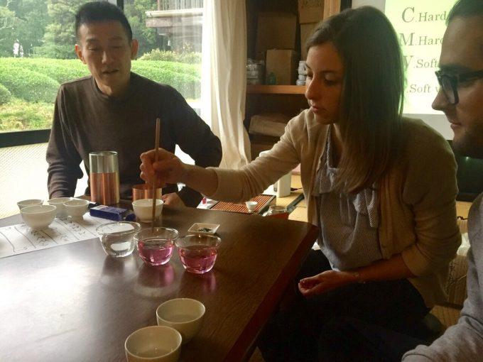 水の事を学びましたっ【京都 宇治茶 和束町】