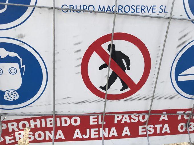 スペインの標識が面白すぎて、お茶と関係ないんけど、紹介したい件。
