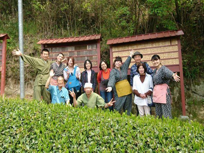 【茶畑オーナー制度】茶畑の中にある~