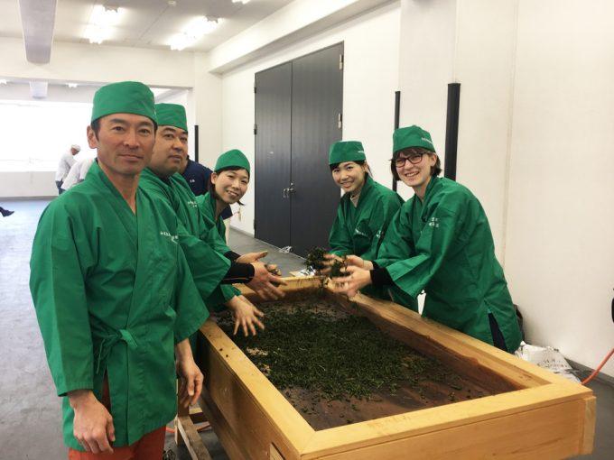 京都の手揉み大会