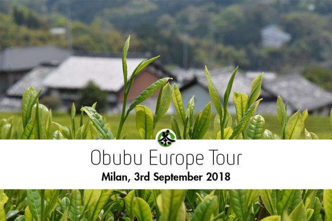 ミラノ|日本茶普及海外ツアー・欧州遠征2018