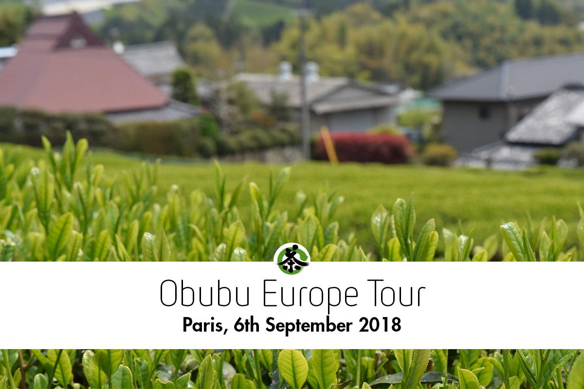 フランス・パリ 日本茶普及海外ツアー・欧州遠征2018