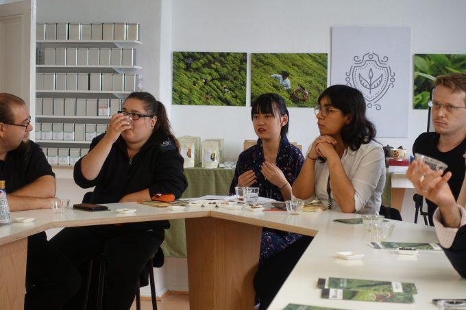 日本茶フリートーク in ベルリン・ティー・アカデミー|日本茶普及海外ツアー・欧州遠征2018