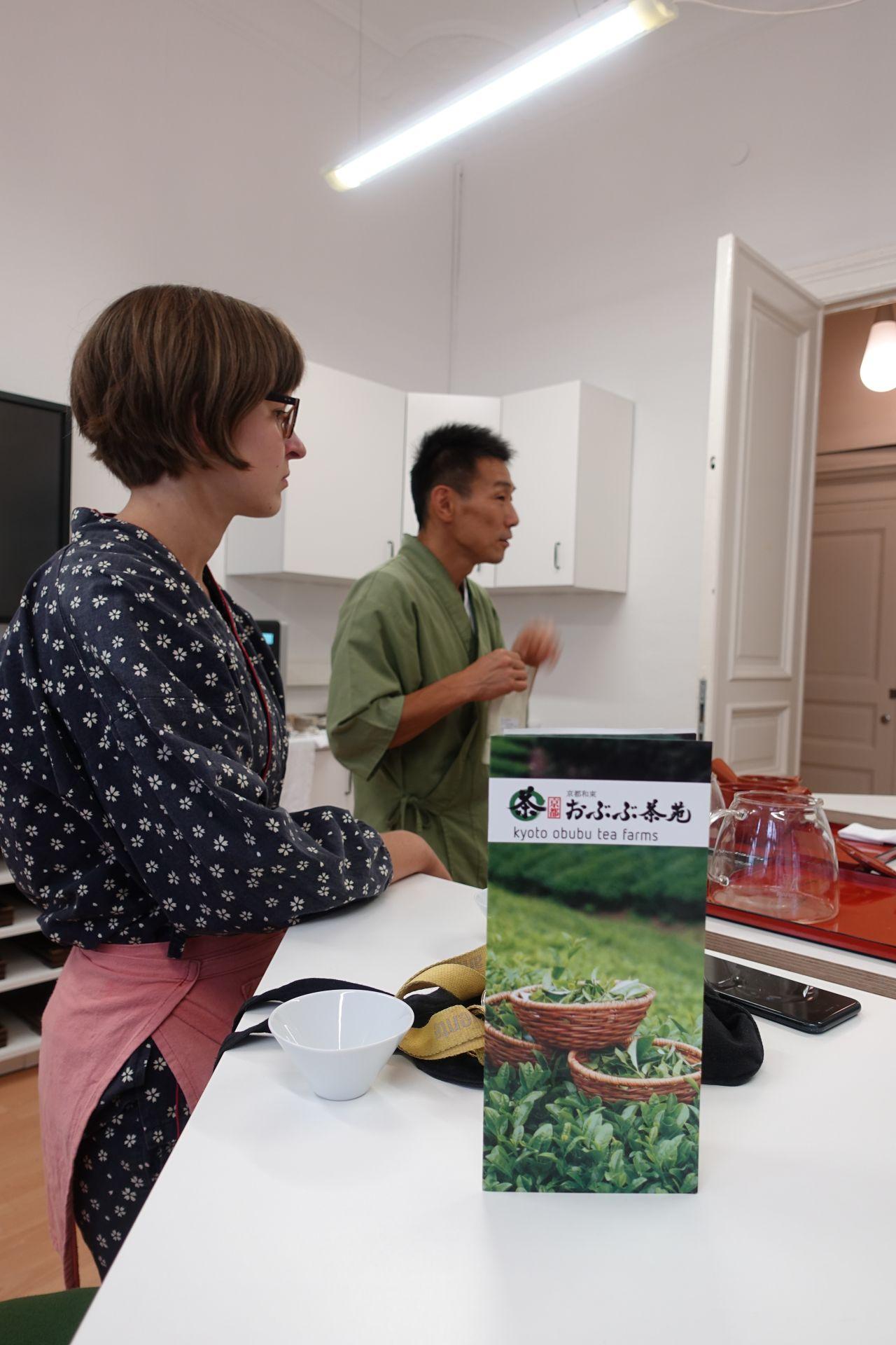 日本茶セミナー in ベルリン・ティー・アカデミー 日本茶普及海外ツアー・欧州遠征2018