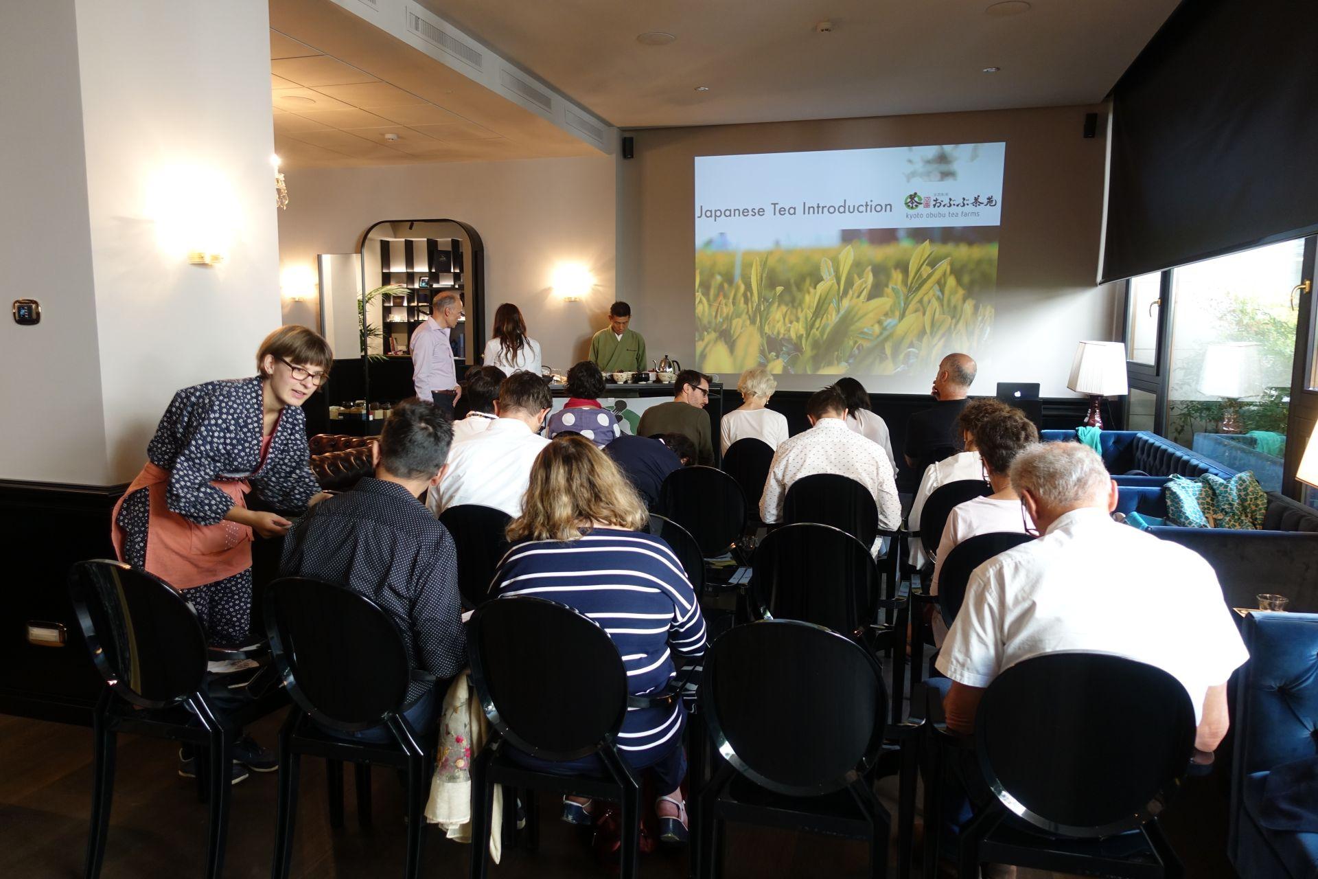 日本茶セミナー in ミラノ 日本茶普及海外ツアー・欧州遠征2018