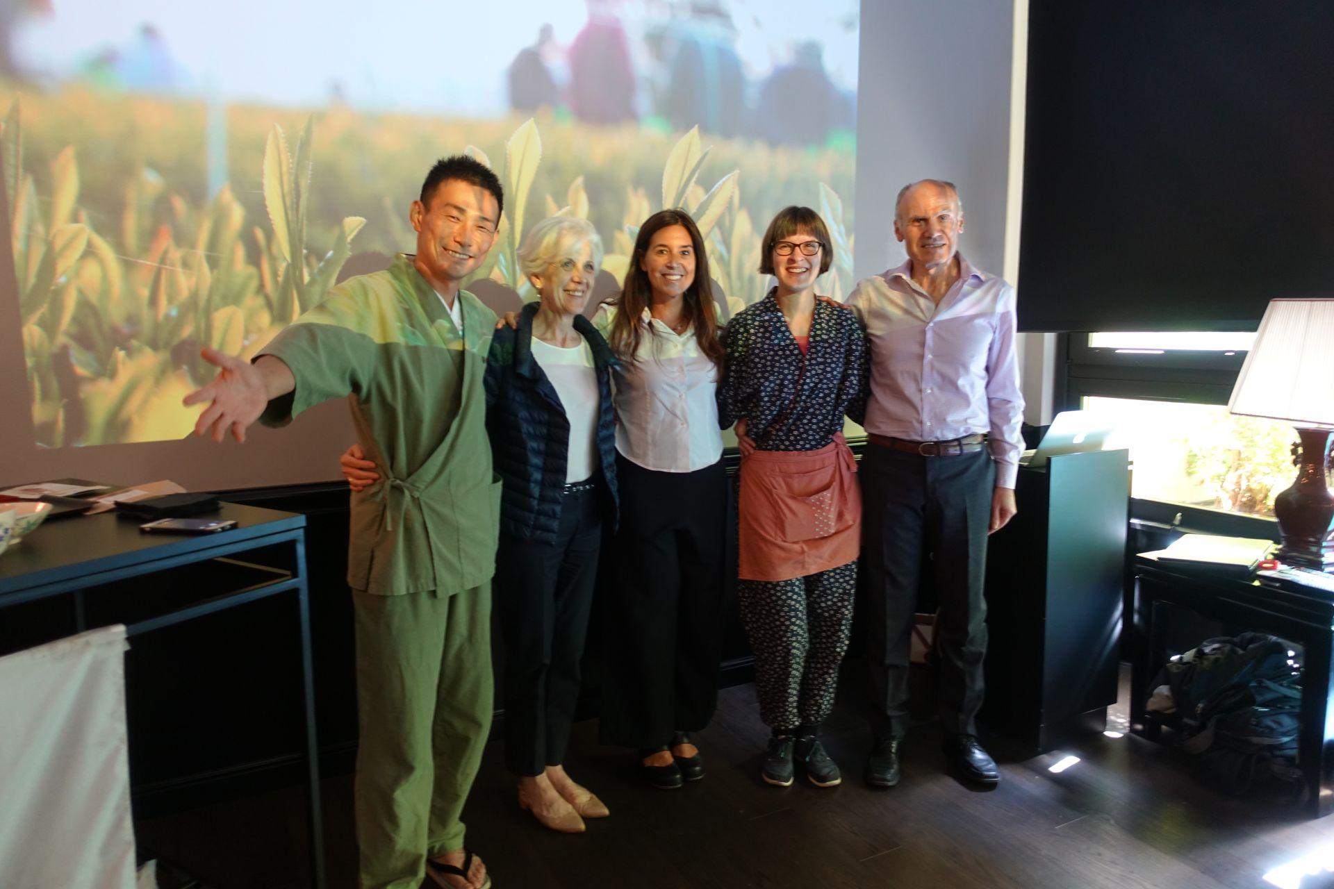 ご協力者さま一覧 日本茶普及海外ツアー・欧州遠征2018