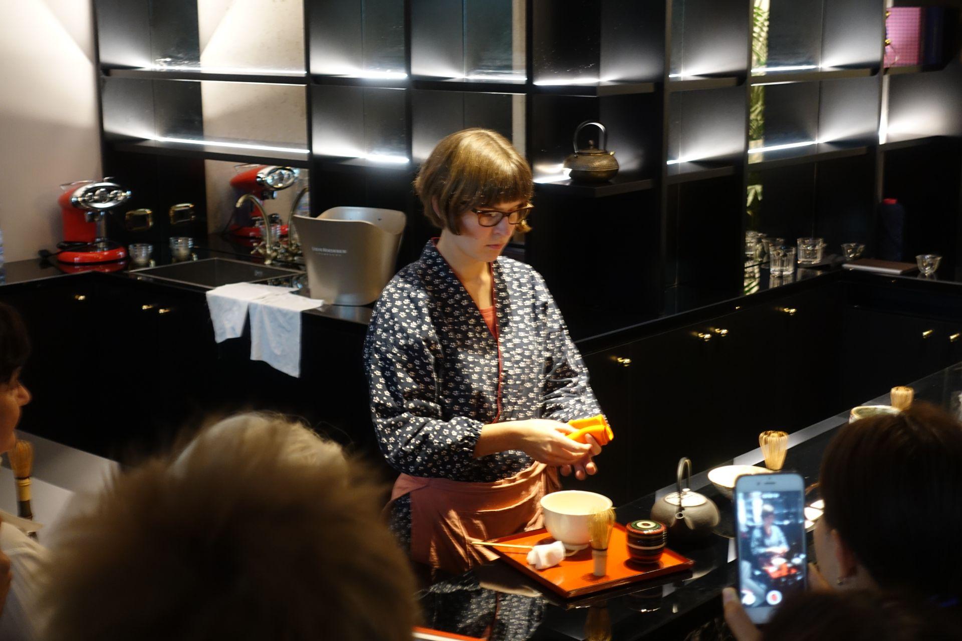 抹茶ワークショップ in ミラノ|日本茶普及海外ツアー・欧州遠征2018
