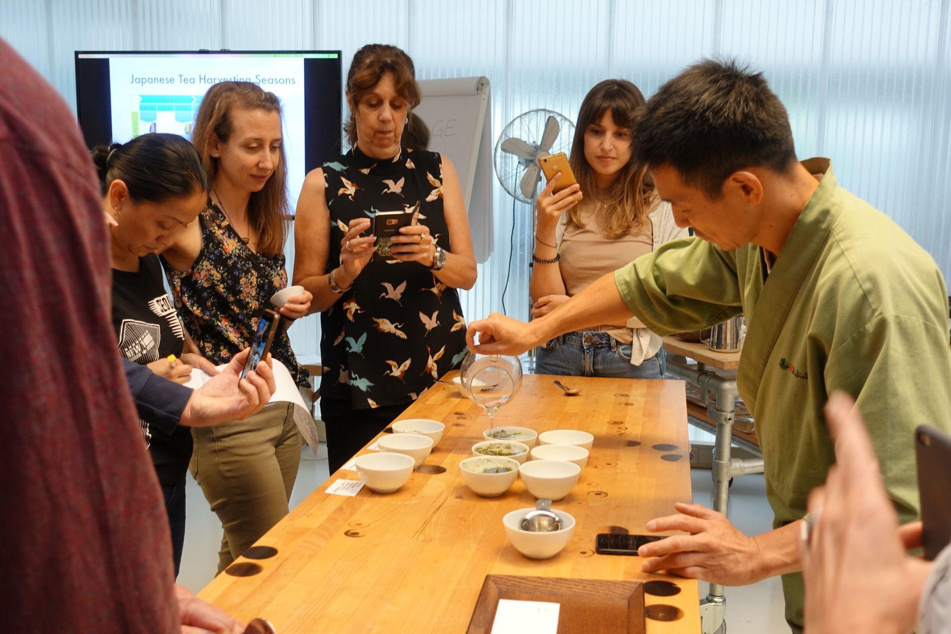 煎茶ワークショップ in ハーグ(オランダ)ITC二日目|日本茶普及海外ツアー・欧州遠征2018