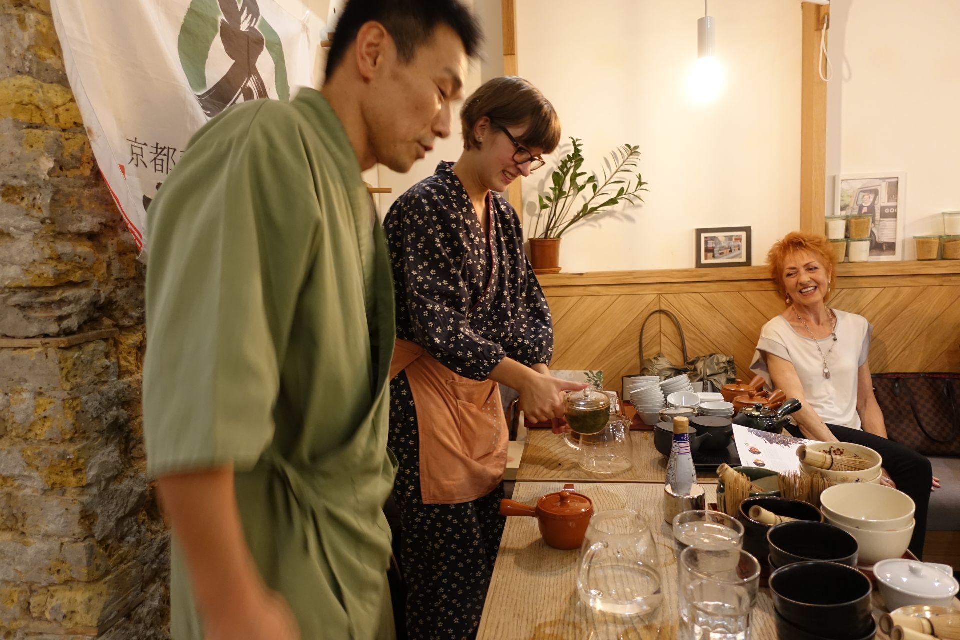 日本茶セミナー with UKティーアカデミー(ロンドン)|日本茶普及海外ツアー・欧州遠征2018