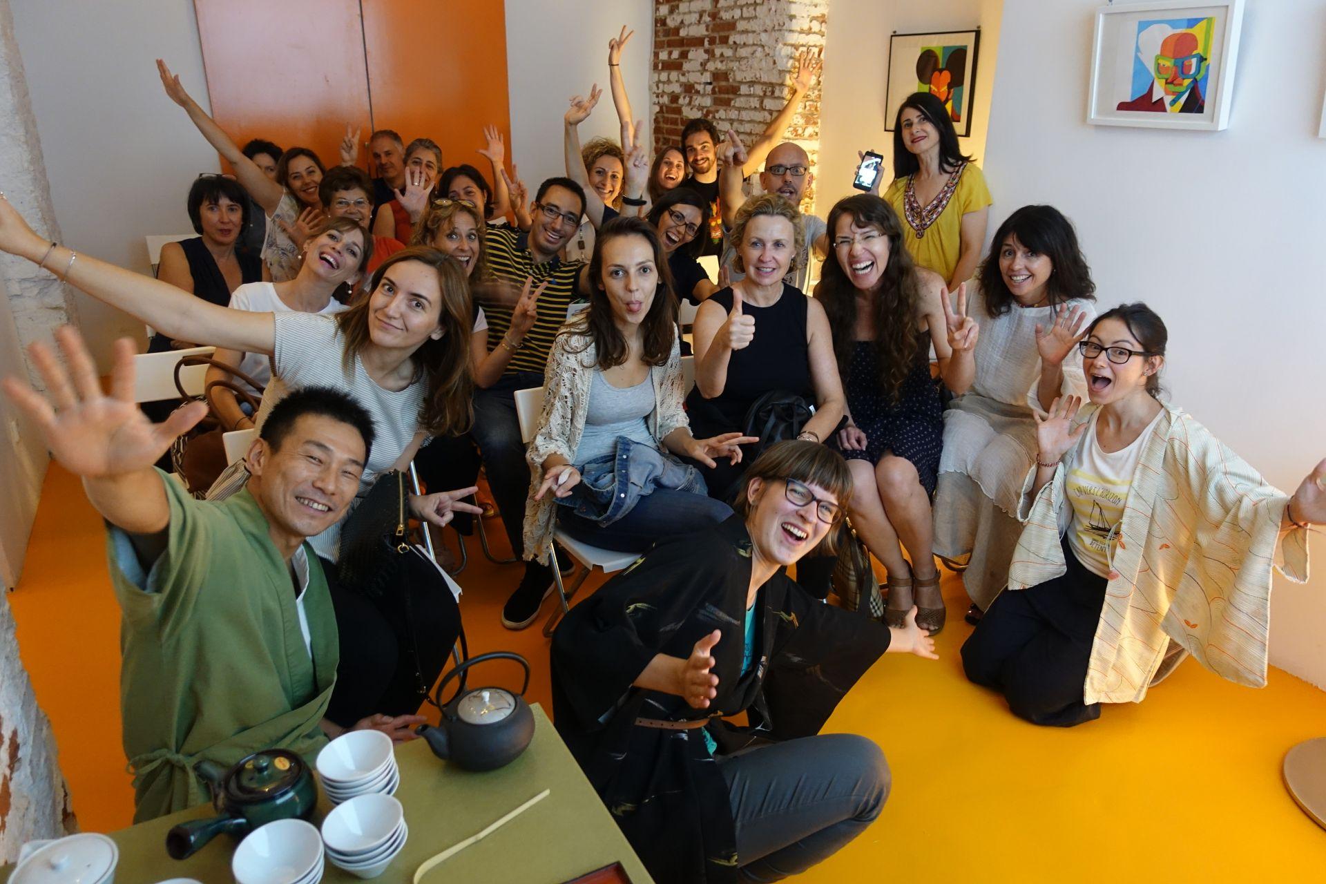 国際日本茶協会オープニングイベント in マドリッド 日本茶普及海外ツアー・欧州遠征2018