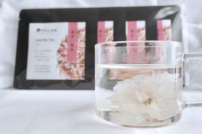 今年もあまい桜茶をご用意しました!