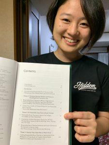 【活動報告】おぶぶスタッフもえちゃんの共同研究が本の一章として採択され出版されました!